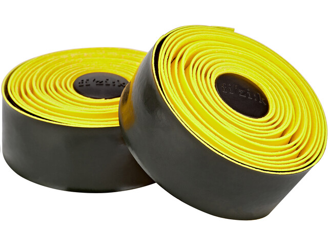 Fizik Vento Microtex Tacky Handlebar Tape 2mm yellow fluo/black